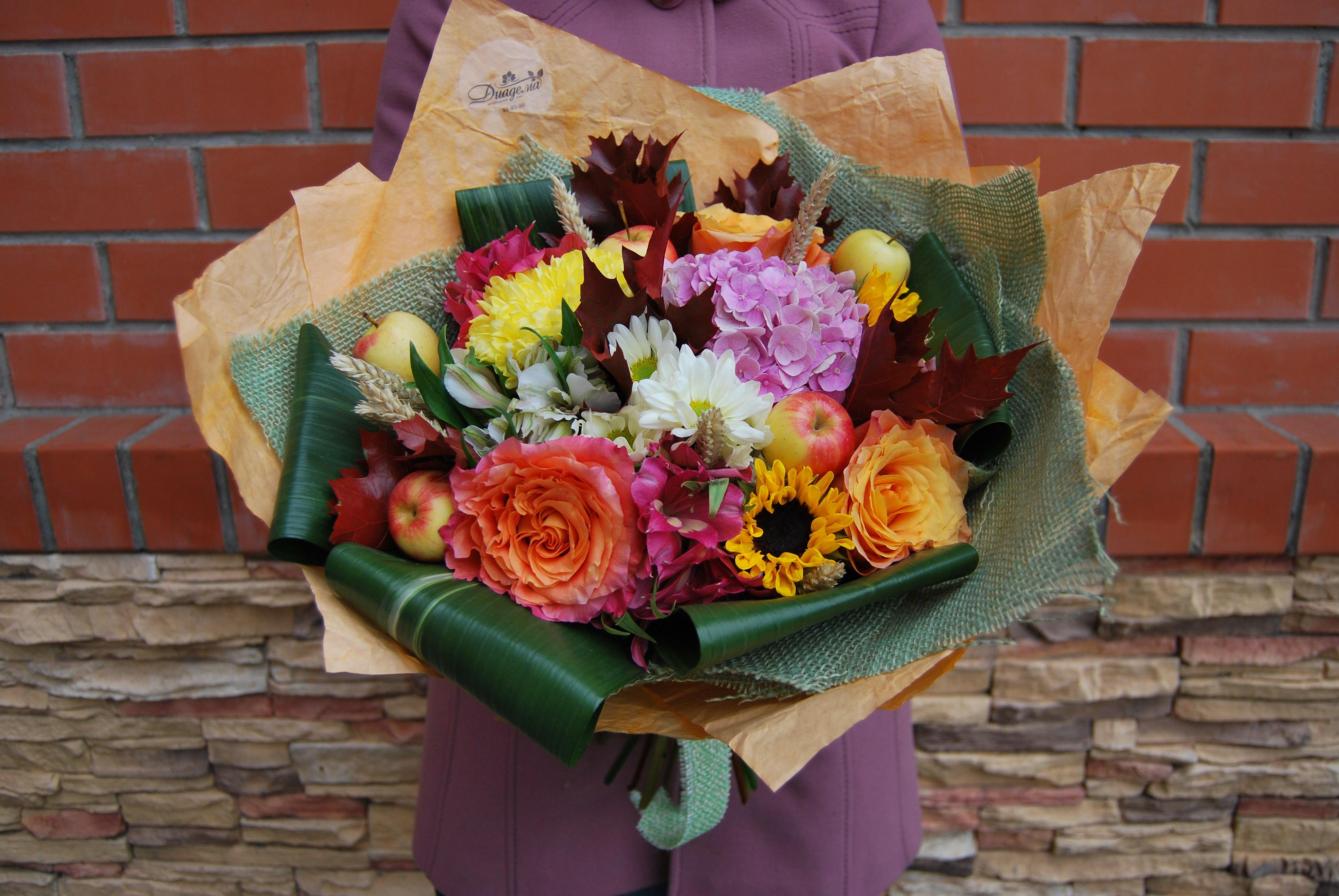Доставка цветов собрать букетов, магазины
